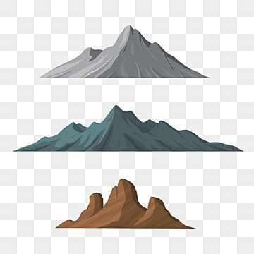 Different Shapes Of Mountains Vector Illustration Mountain Clipart Mountain Adventure Png Transparent Clipart Image And Psd File For Free Download Ice Icon Travel Clipart Cartoon Mountain