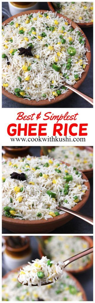 Ghee Rice Recipe Vegetable Side Dishes Recipes Recipes