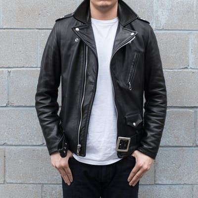 Schott Nyc 519 Perfecto Waxy Natural Cowhide Jacket Mens Leather Jacket Biker Jackets Best Leather Jackets
