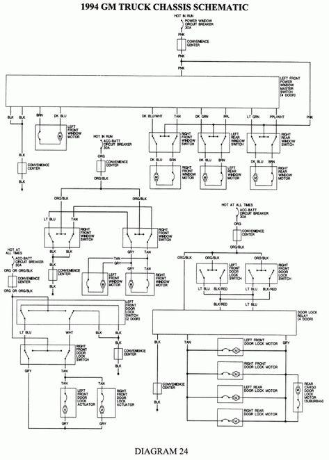 16 1993 Chevy Truck Wiring Diagram Truck Diagram Wiringg Net In 2020 Chevy Trucks Truck Stereo Chevy 1500