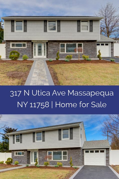 This Massapequa Ny Home For Sale Is The Perfect Suburban Retreat Find Out More About This Home 317 N Utica Ave Massapequa Ny 11758 Home For Sale Moder