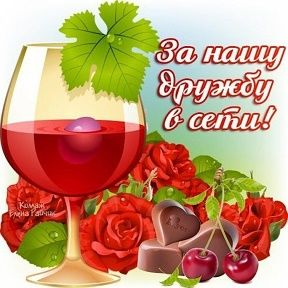 За Нашу Дружбу В Интернете!!! | Alcoholic drinks, Rose wine, Food