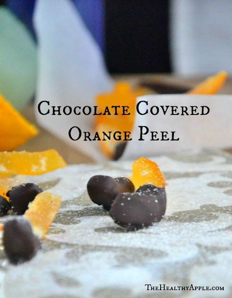 Chocolate Covered Orange Peel | TheHealthyApple.com | #glutenfree #dairyfree #chocolate #dessert #healthydessert #health #healthy #healthtips #tips #cleaneating #gf #gfree