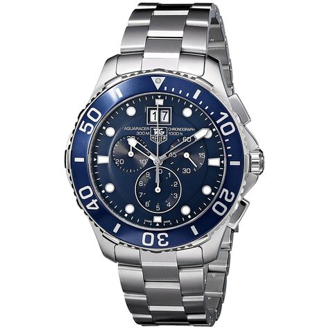 Tag Heuer Men's CAN1011.BA0821 Aquaracer Chronograph Stainless Steel Watch