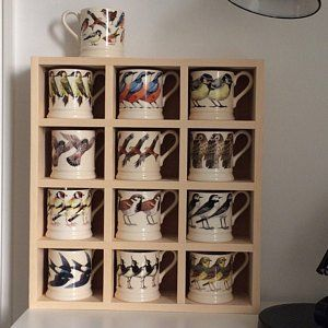 Mug Storage Shelf 12 Compartments With Images Emma Bridgewater Mug Storage Emma Bridgewater Kitchen