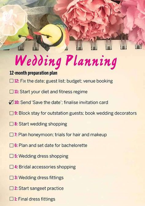 All you need to know about the steps to plan a wedding