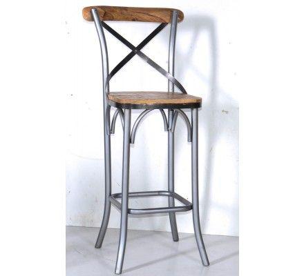 2 bar de de chaises Loft Lot D2EHYeW9I