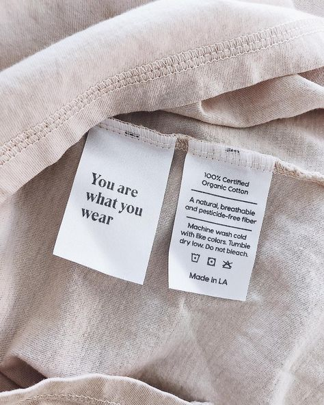 Every MATE piece is now made with 100% Organic cotton or natural fibers. Cleaner soil, cleaner water and healthier farmers ✔️
