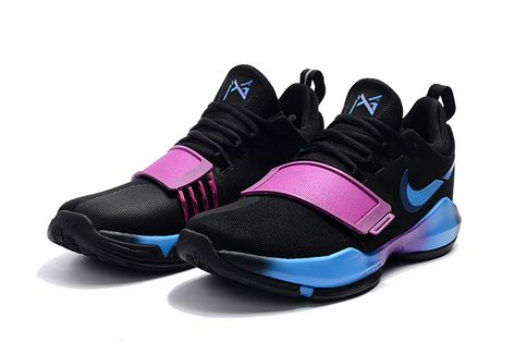 Young Big Boys Nike PG 1 Ferocity Obsidian University Gold Hyper Violet  Indiana Pacers 878627-417 | Young 2017 Basketball Shoes | Pinterest | Boys  nike, ...