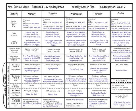 Mrs Riccau0027s Kindergarten Classroom Library \ Lesson Plans - kindergarten lesson plan
