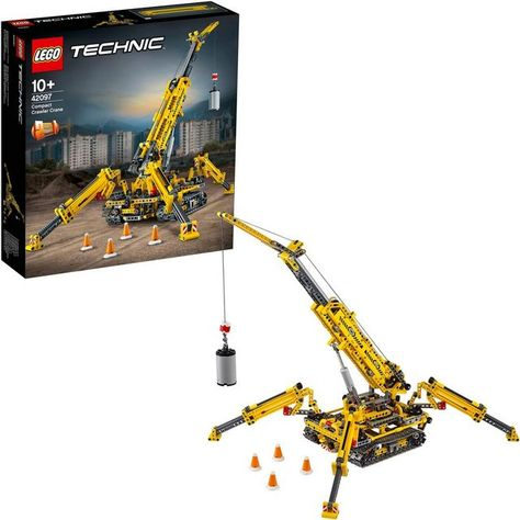 Konstruktionsspielsteine Spinnen Kran 42097 Technic 920 St