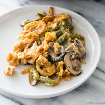 Extra Crunchy Green Bean Casserole Cook S Country Recipe Crunchy Greens Cooks Country Recipes Casserole Cooking