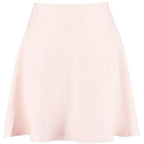 bdef8cc245 Boohoo Avy Suedette Full Skater Skirt