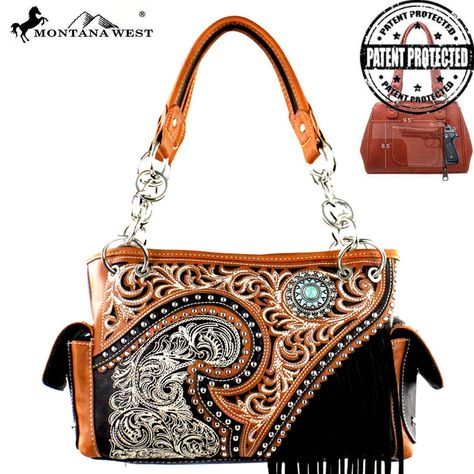 MW379G-8085 Montana West Fringe Collection Concealed Handgun Stachel  #western #momtanawest #west #handbaloverusa #rustic #rusty #country #purse #countrygirl #cattle #american #cowgirl #texas #texan #USA #cowgirl #cattle #countryside #countrylife #gun #guncarry #aztec