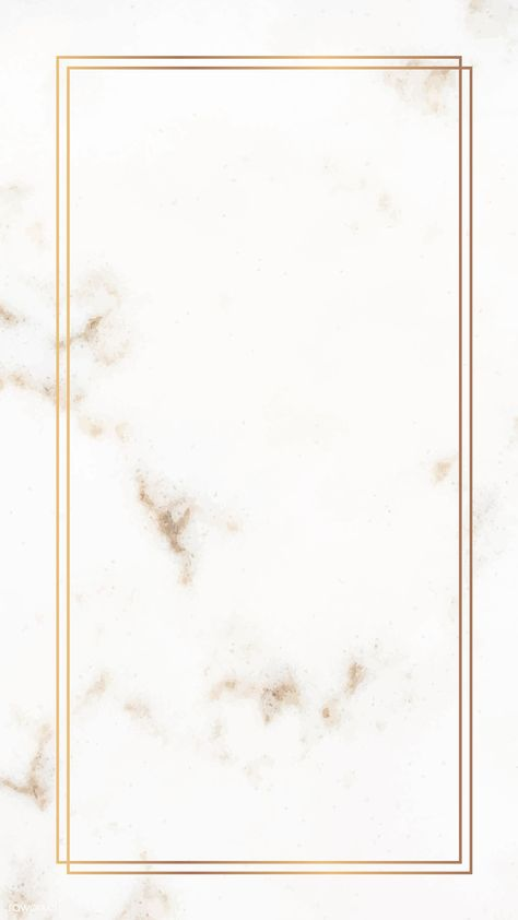 Rectangle gold frame on a marble vector | premium image by rawpixel.com / sasi