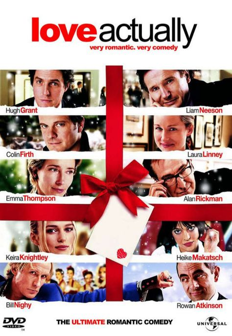 """Perhaps my favorite movie of all time is """"Love Actually"""" which tells of the concept and power of love at its finest."""