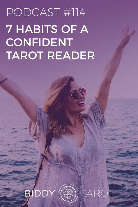 These tips will help you build your confidence as a Tarot Reader. #biddytarot #tarottribe #tarotpro #tarotjourney #tarotlove #tarotreader #tarotbusiness #intuitive #everydaytarot #mastertarot #confidence