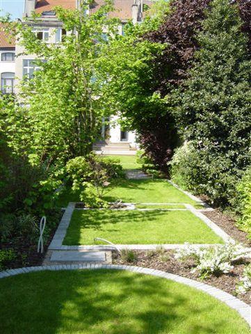 Jardin En Longueur Jardins Idee Amenagement Jardin