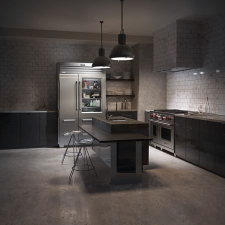 EXTREME Handcrafted luxury kitchen in private mansion. Handpainted ...