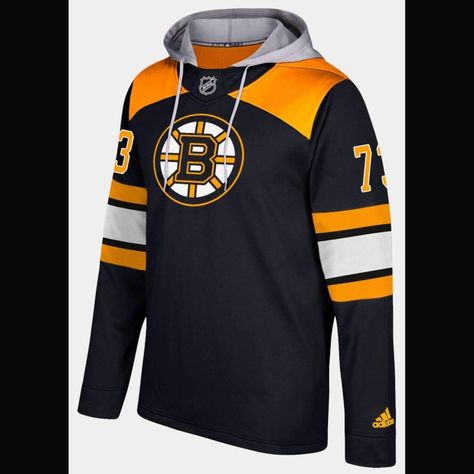 Boston Bruins Adidas Nhl Hockey Jersey Style Hoodie Nhl Hockey Jerseys Boston Bruins Nhl Hockey Teams