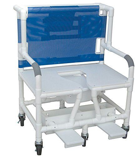 Variety Colors Bariatric Shower Chair Commode Opening Seat And