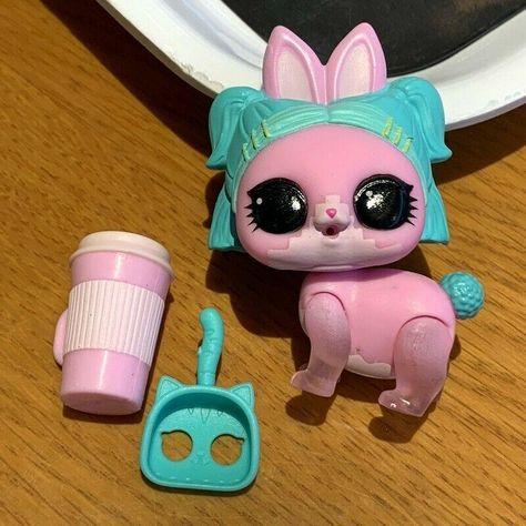 LOL Surprise Doll PETS VRHOP Bunny RABBIT Series 4 PET Animals DOLLS VR HOP sd
