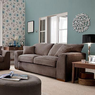 Get Fantastic Brown Living Room Ideas On Brown Home Decor And Decorating With Brown Wit Light Blue Living Room Brown Sofa Living Room Duck Egg Blue Living Room