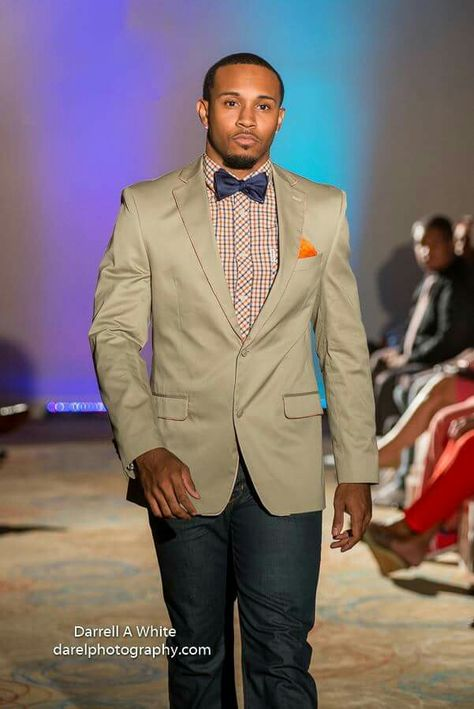 Styled by Jeff McAlister  Model Cedric  Jackson Clothing provided by Jazzman