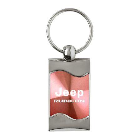 Lincoln MKZ Pink Tear Drop Metal Key Ring