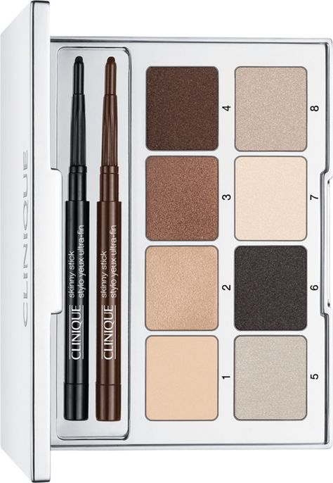 "@Clinique All About Shadow Palette ""contains essentials for creating sultry eye looks"". @musingsofamuse #beauty #makeup"