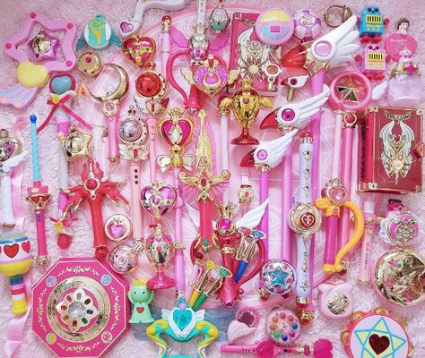 Magical Girl Power! Mahou Shoujo // Sailor Moon! www.CuteVintageToys.com 💖 Hundreds Of Precious Vintage Toys From The 80s & 90s! Follow Me & Use The Coupon Code PINTEREST For 10% Off Your ENTIRE Order! 💌 Dozens of G1 My Little Ponies, Polly Pockets, Popples, Strawberry Shortcake, Care Bears, Rainbow Brite, Moondreamers, Keypers, Disney, Fisher Price, MOTU, She-Ra Cabbage Patch Kids, Dolls, Blues Clus, Barney, Teletubbies, ET, Barbie, Sanrio, Muppets, Sesame Street, & Fairy Kei Cuteness!💖