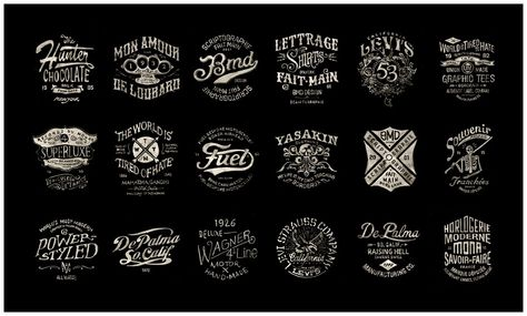 cc8b6a5a4c0a2 We have featured BMD Design s vintage typography pieces before and recently  I decided to re-visited his site and found a tonne more awesome work