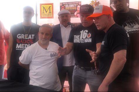 'Bagel Boss' Chris Morgan gets slapped in face by Lenny Dykstra