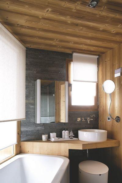 41++ Salle de bain dans chalet bois trends