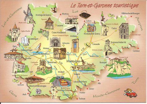 82 Tarn Et Garonne Dans Ma Boite Aux Lettres Cartes Postales De