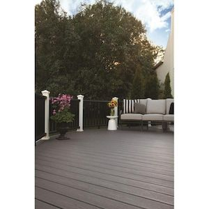 Trex Enhance Basics 12 Ft Clam Shell Grooved Composite Deck Board Lowes Com Trex Enhance Composite Decking Composite Decking Boards