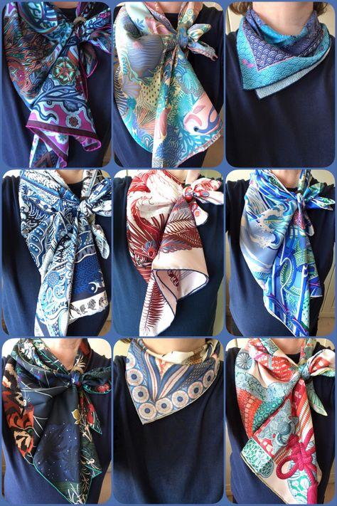 Wardrobe planning #15: Hermès scarves – The Purse Forum | The ...