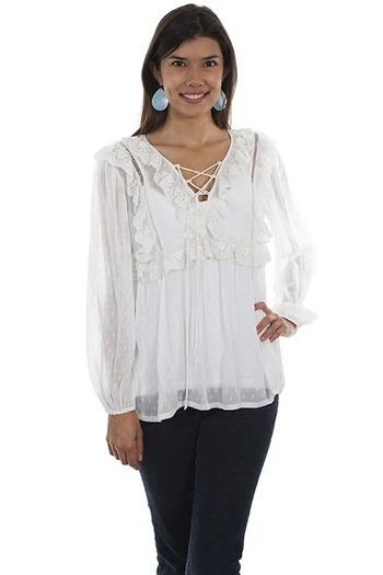 floral Cowgirl Up Women/'s top 100/% cotton size L