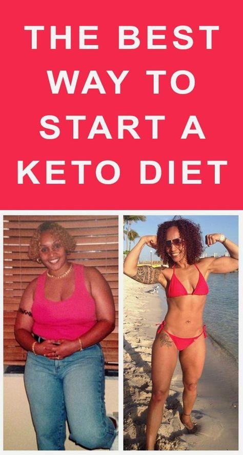 imágenes de la dieta keto antes y después