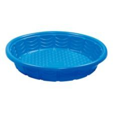 Round Wading Pool Brings Endless Fun And Enjoyment To Your Backyard Kids Can Splash Play And Cool Off Under The Sun Plastic Pool Kiddie Pool Summer Waves