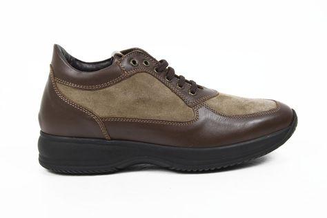 Versace 19.69 Abbigliamento Sportivo Milano mens sneakers 1010 CAMOSCIO MARRONE