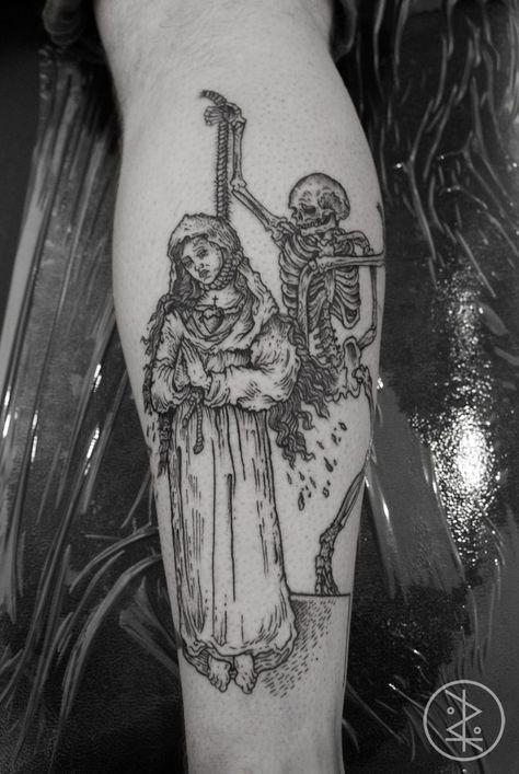 Danse Macabre Tattoo Google Search Tattoos