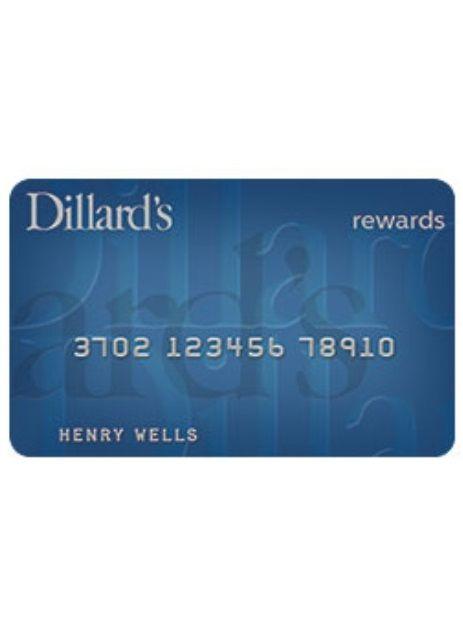 Dillard S Credit Cards Credit Card American Express Card Reward Redemption