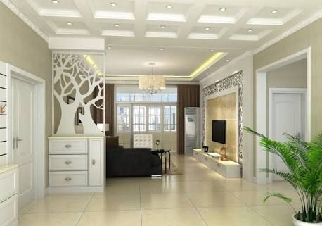 Image Result For Wooden Partition Designs Between Living Dining Amusing Wooden Ceiling Designs For Living Room 2018