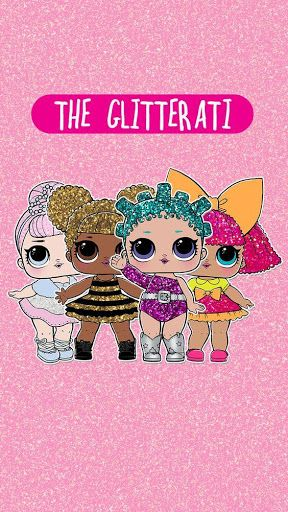 Cute Lol Wallpaper : wallpaper, L.O.L., Surprise, Dolls, Wallpapers, Dolls,, Party