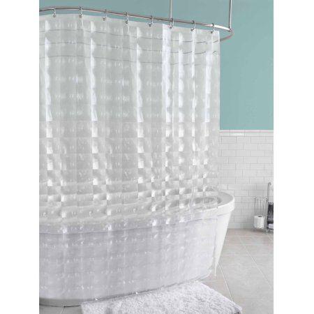 Splash Home Carrele Peva Shower Curtain 70 Inch X 72 Inch Inches