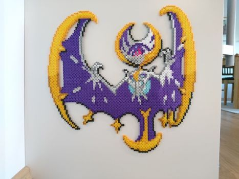 Pokemon 58 Lunala By Magicpearls Pixel Art Art Pokemon