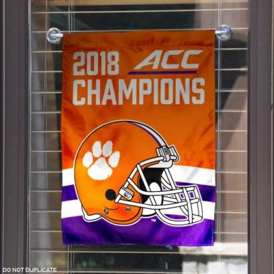 Wincraft Clemson Tigers 2018 College Football National Champions House Flag