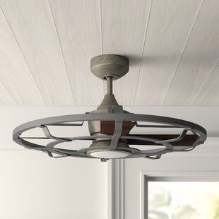 Mini Outdoor Ceiling Fans With Lights Dle Destek Com Outdoor Ceiling Fans Caged Ceiling Fan Rustic Ceiling Fan