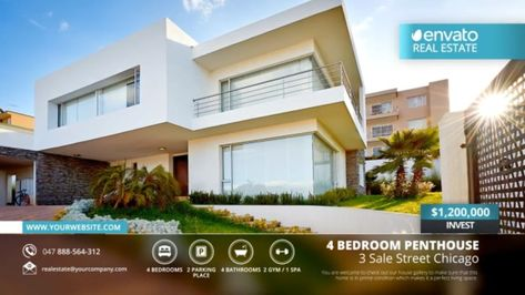 Videography for Real Estate - After Effects Template